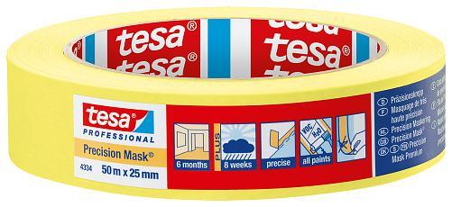Tesa-Praezisionskreppband-4334-25mm-x-50m