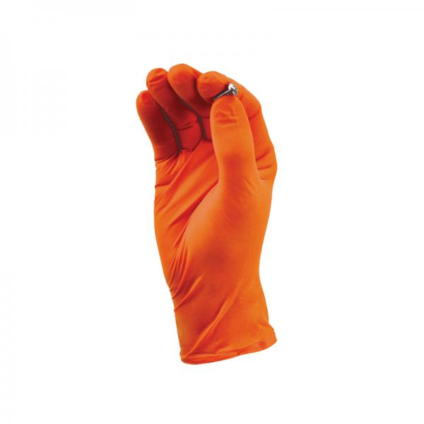 TGC-Nitril-Einmalhandschuhe-Orange-Groesse-XS